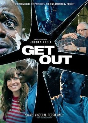Get Out: Brand New DVD, Horror (Slipcover) Free Shipping
