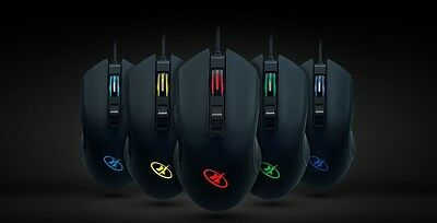 Rosewill Gaming Mouse, 4000 dpi, RGB Backlit, Optical, Wired, NEON M57