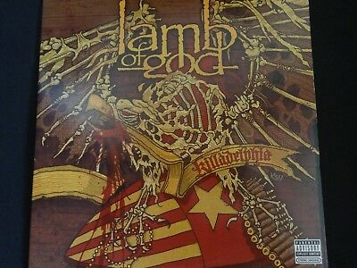 "Lamb Of God ""Killadelphia"" 2xLP. Orange Vinyl. Ltd/Numbered edition. VERY RARE !"