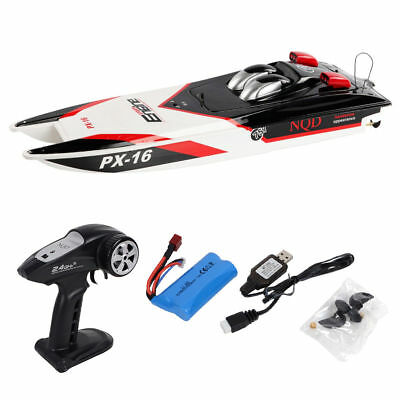 """PX-16 1:16 32"""" 2.4G RC Speed Boat Storm Engine Radio Remote Control Electric Toy"""