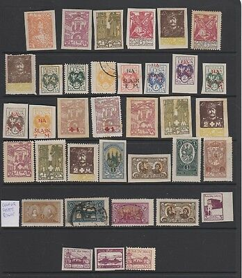 Central Lithuania, Early Collection, Mm/mh & Good /fine Used, Inc O/prints