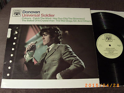 DONOVAN - Universal Soldier  LP  MARBLE ARCH UK 1965 !  TOP VINYL !