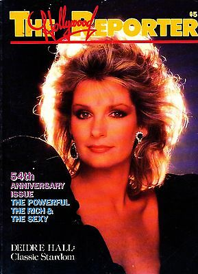 The Hollywood Reporter, 54th Anniversary Issue 1984 - Deidre Hall