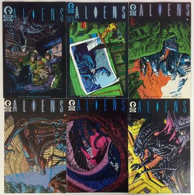 Aliens #1 to #6 complete series (Dark Horse 1988) HTF 1st prints