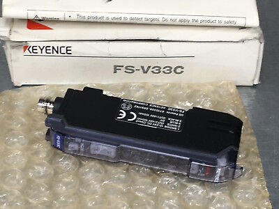 Keyence FS-V33C Fiber Amplifier, M8 Connector Type