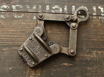 Original WW2 German army Barbed Wire Cable Tensioners Reichsheer 1937  DRGM Rare