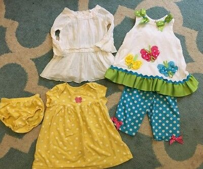 Lots Of Girls Size 18 Months Summer Outfits, Dresses, Rare Editions, Carters
