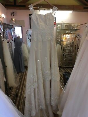 lace wedding dress size 12 By Maggie Sottero