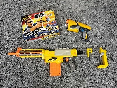 NERF N Strike Elite Recon CS-6 + Dart Tag Gun Blaster Toy Bundle Set Pair