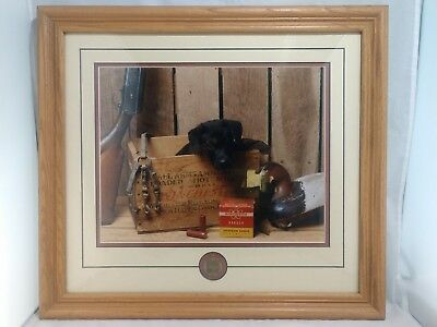 """2001 Ducks Unlimited Canine Club """"drake"""" Numbered Picture"""