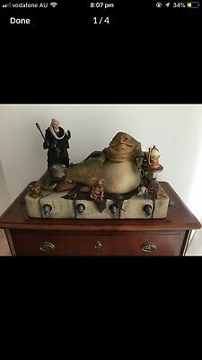 Star Wars sideshow Jabba The Hutt Jabbas Throne And Creature Pack 1:6 scale