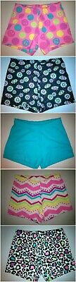 Baby Toddler Girls Shorts Printed, Solid Cotton Blend 12 18 24 Month 3T 4T 5T