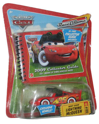 Disney Pixar Cars Movie Exclusive Night Vision Lightning McQueen Toy Car w/ Col