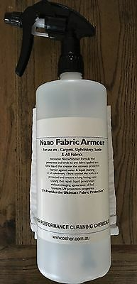 Fabric Protection Armour 1ltr (Nanotechnology Hydrophobic Coating)