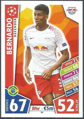 Bernardo Champions League 17//18 RB Leipzig Sticker 84