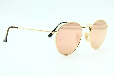 c98adb5eaa New Ray-Ban Sunglasses Rb 3447-N 001 z2 Gold Authentic Mirrored Rb3447