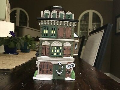 Dept 56 Flat of Ebenezer Scrooge with Box Dickens Village 55875 Christmas Carol