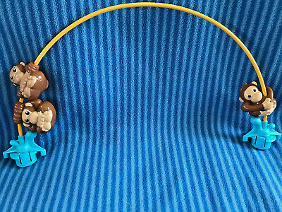Evenflo Triple Fun Jungle Exersaucer 3 Monkey Arch Replacement Part