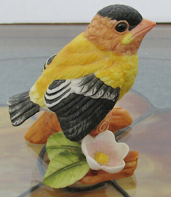 Vintage Goldfinch Baby Bird Figurine by Lefton