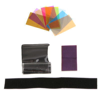 12 Color Filter Set Flash Diffuser for Canon Nikon Sony YONGNUO Speedlite