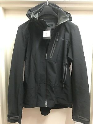 Macpac Men's Large Stealth Soft Shell Jacket 675g BNWT FREE SHIPPING!