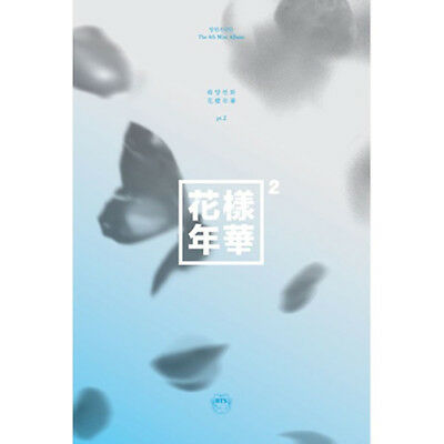 BTS Mini Album Vol. 4 The Most Beautiful Moment in Life Pt. 2 (Blue Version)
