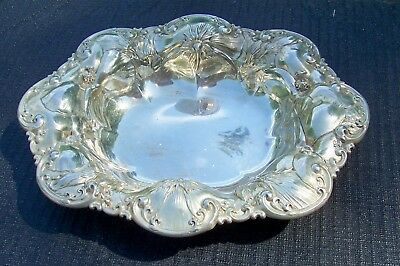 Antique Art Nouveau Sterling Silver Bowl By Whiting 112.5 grams  Lot 1 of 2