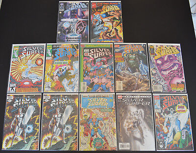 SILVER SURFER (12-Book) LOT #1 53 62 73 88 ANNIHILATION #2 (& MORE) - High Grade