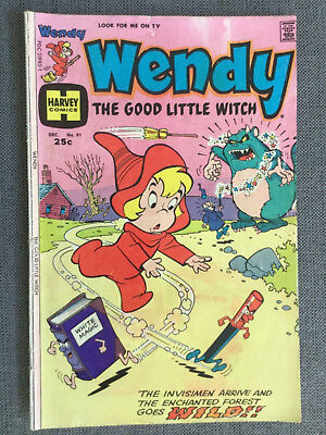 Harvey World Wendy, The Good Little Witch #91 (1975)