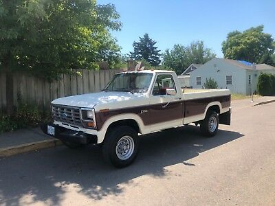 1985 Ford F-250 1985 Ford F-250 4x4 Low miles 103.k 1976 1979 1984 1986 1987 1992 4x4
