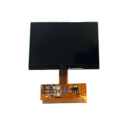 Black VDO FIS Cluster LCD Display Replacing Kit for VW Audi Version Plastic