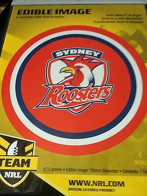 Official NRL Sydney Roosters Cake Topper