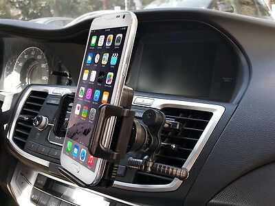 Car Mount Air Vent Clip Cradle Cell Phone Stand for Apple iPhone 8 Adjustable