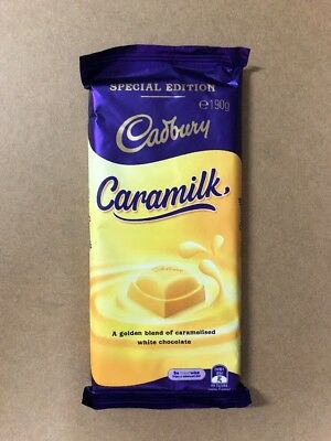Cadbury Caramilk ❤︎ 190g Block ❤︎ Not-recalled