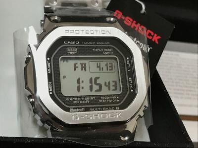 39695d84079 G-SHOCK GMW-B5000D-1JF Silver 35th Anniversary Limited Edition Full metal  NEW