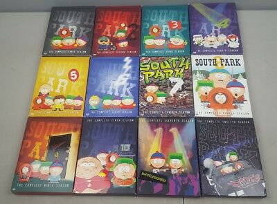 south park Animated TV Series seasons 1-12 complete 36 dvd disc set