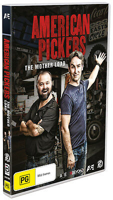 BRAND NEW American Pickers - The Mother Load (DVD, 2018, 3-Disc Set) Col 19