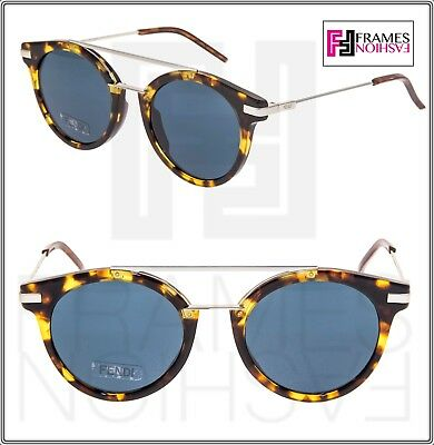 354ba925 AUTHENTIC FENDI MEN Ff 0225 S 09G0/KU Havana Palladium ...