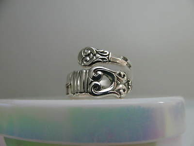 Sterling Silver spoon RING s 5 1/4 ROYAL DANISH Jewelry # 6212