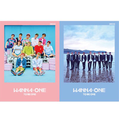 WANNA ONE 1X1=1(TO BE ONE) 1st Mini Album 2 Ver SET+Fotobuch+Karte+Lyrics+etc