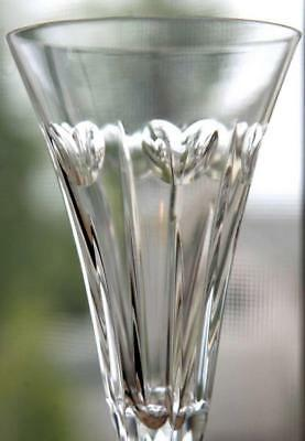 Perfect Pair of Waterford Crystal Millennium Hearts Love Champagne Flutes