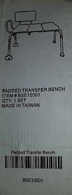 Padded Seat Transfer Bench Item# BSE10001 Brand New, Never Used, Unopened Box
