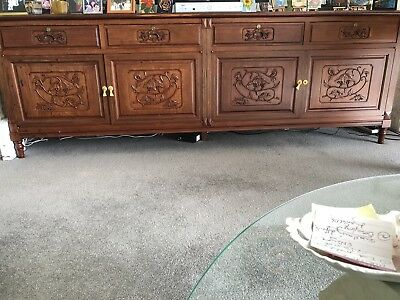 Nick Scali buffet Handcrafted cabinet  - Solid & heavy - Inspection Welcome