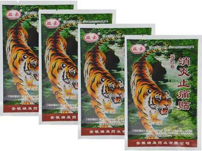4 Pks of 8 Patches Deep Heat Pain Relief Tiger Balm Patch Chinese Balm