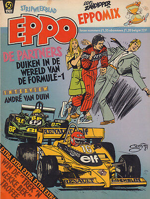 STRIPWEEKBLAD EPPO 1981 nr. 50 -  ANDRE VAN DUIN (INTERVIEW) / VARIOUS COMICS