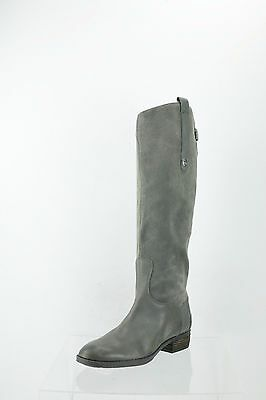 b4a65349130a Sam Edelman Pembrooke Gray Riding Knee High Boots Women s Shoes Size 6 M NEW