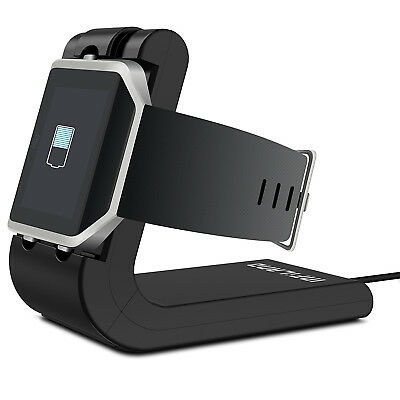Charging Dock Station Holder Cradle Stand Charger Cable For Fitbit Blaze Watch