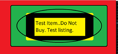 test item-not for sale-20/6