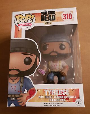 AMC The Walking Dead Tyreese Funko Television #310 Pop! Vinyl Figure New