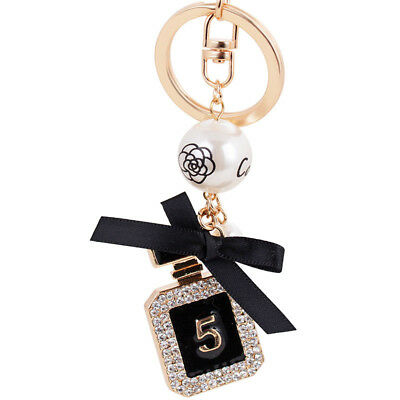 CHANEL Keyring - CO CO CHANEL No. 5 Perfume Bottle Keychain